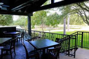 Outside Patio Dinning Area