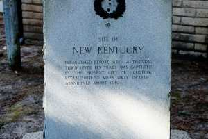 Site of New Kentucky