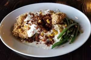 Chicken Fried Steak with Chorizo Gravy