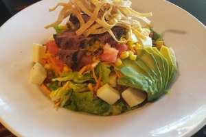 Southwestern Salad with Fajita